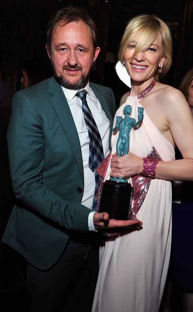 Cate Blanchett and Husband Andrew Upton Adopt a Child!  Cate Blanchett, Andrew Upton, SAG Couples