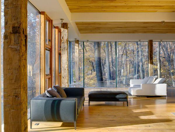 Would like darker wood but OMG the windows