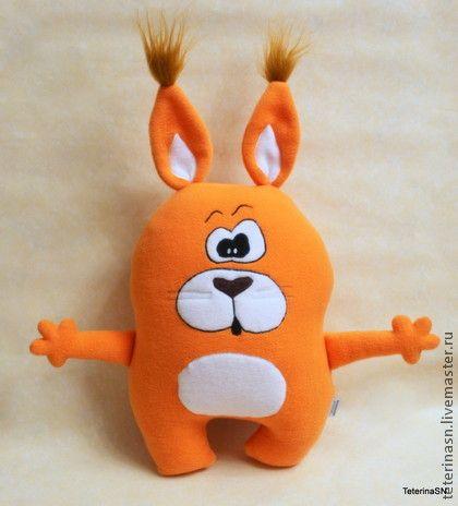Подушка-игрушка БЕЛКА - подушка,подушка-игрушка,белка,подушка белка,игрушка белка