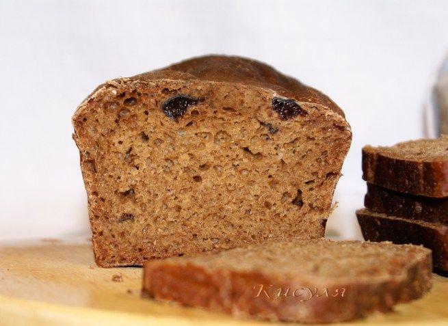 ржаной хлеб на черносливовойзакваске
