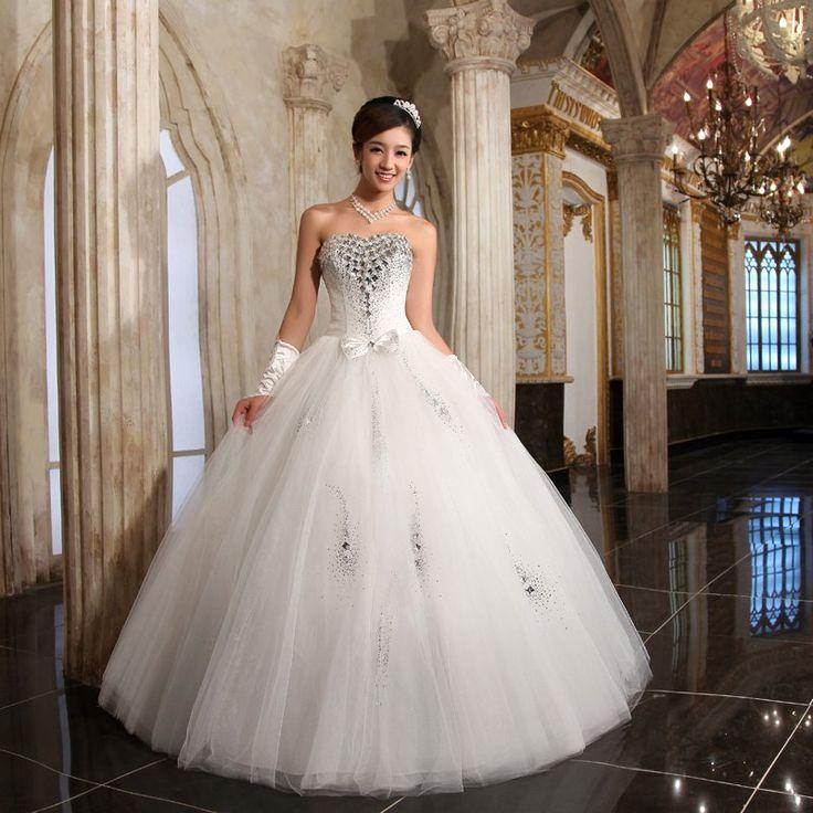 The 231 best wedding dress images on Pinterest | Bridal dresses ...