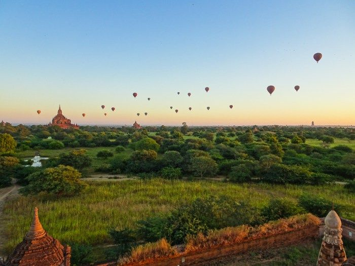 Indi-Hannah Jones and the Secret Temple: The Best Place for Sunrise in Bagan