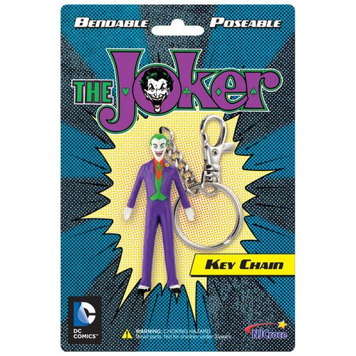 The Joker Batman Bendable Keychain