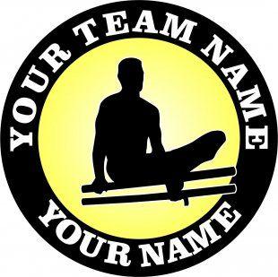 Customized Gymnastics Logo 06