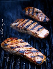Wicked Yummy: Super Easy BBQ Grilled Salmon