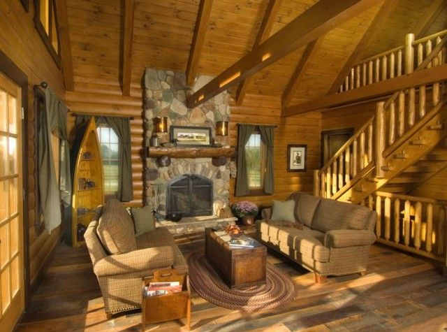 45 Best Images About Log Homes On Pinterest House Plans