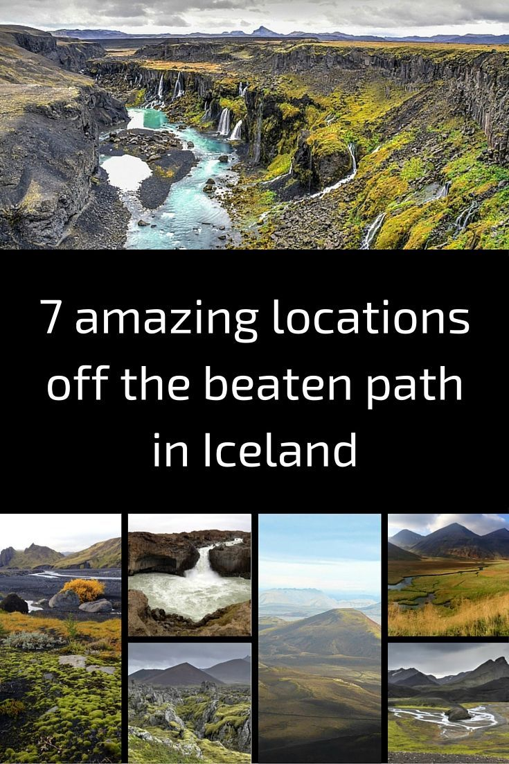 7 amazing locations off the beaten path in Iceland - It is really hard to choose a favorite, they are so different! Which one is yours?   Iceland Landscapes   Iceland Travel   Iceland Photography