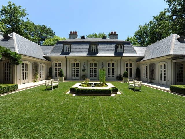 Things That Inspire New On The Market A French Style Home Featured In Veranda Backyard