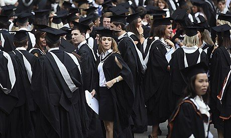 Half of recent UK graduates stuck in non-graduate jobs, says ONS