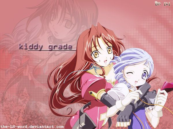 L: Kiddy Grade Wallp by The-LH-Word.deviantart.com on @deviantART