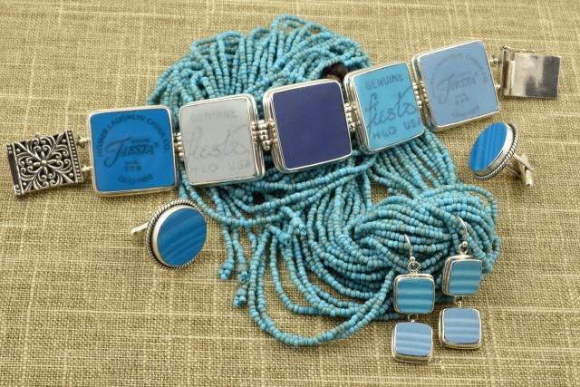 blue | fiestaware bracelet