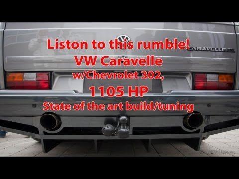 VW Caravelle V8 Twin-turbo, 1.105 HP/1.311 Nm - YouTube