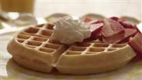 These easy buttermilk waffles are crisp on the outside, tender in the middle, and are a crowd-pleasing weekend breakfast.