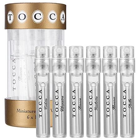 tocca fragrance sampler.