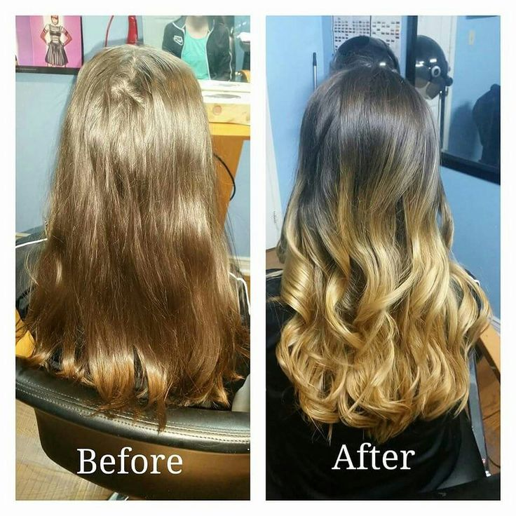 Ombre hair done by gagan