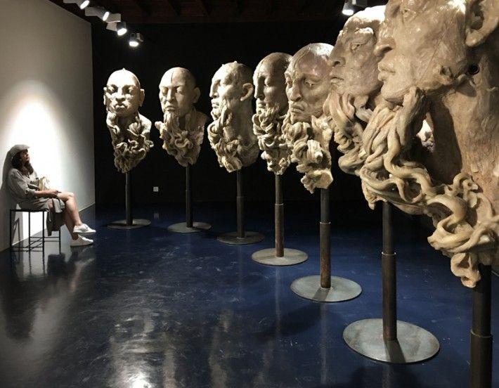 Javier Marín Casa Rusa. Pinacoteca Comunale Casa Rusca. | Septiembre 2016 - Enero 2017 | Locarno, Suiza.  #JavierMarinescultor