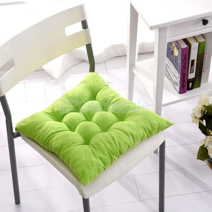 Chair Cushion Seat Pads Seat Cushion Outdoor Dining Home Garden Decor-Green
