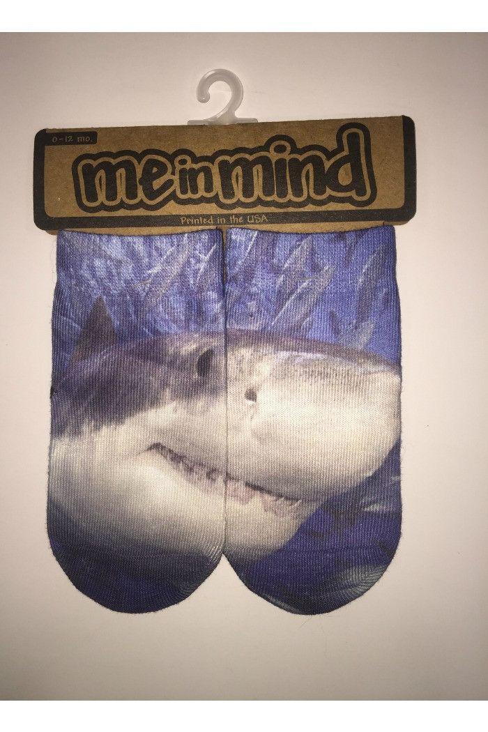 Me in Mind - Shark Socks | - R + D Hipster Emporium - Inspirational Fashion & Boho Chic