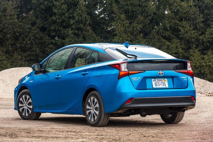 20192020 Toyota Prius Three Quarter Rear Left Side View