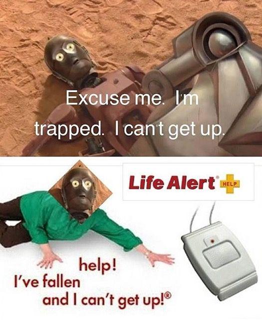 In which Threepio needs Life Alert