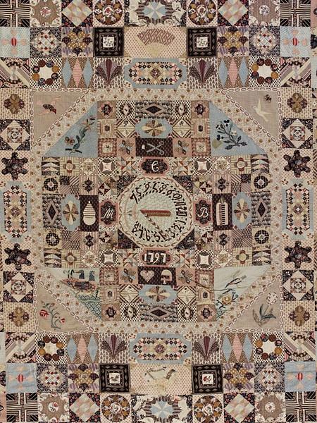 Patchwork quilt  English, 1797