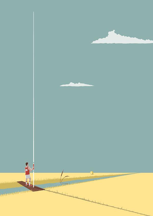 Saltatore di fossi per la lunga | Victor Cavazzoni