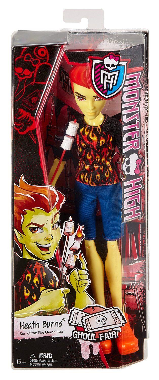 Monster High Ghoul Fair Heath Burns Doll