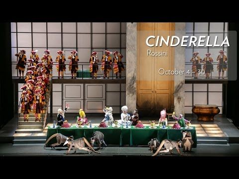 Rossini's CINDERELLA at Lyric Opera of Chicago runs October 4 - 30 - YouTube