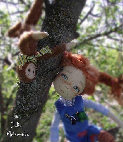 Pippi Longstocking by  Julia Moiseenko