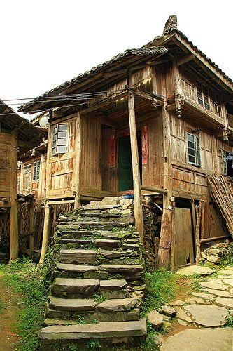 House at Dazhai Village - China ˚