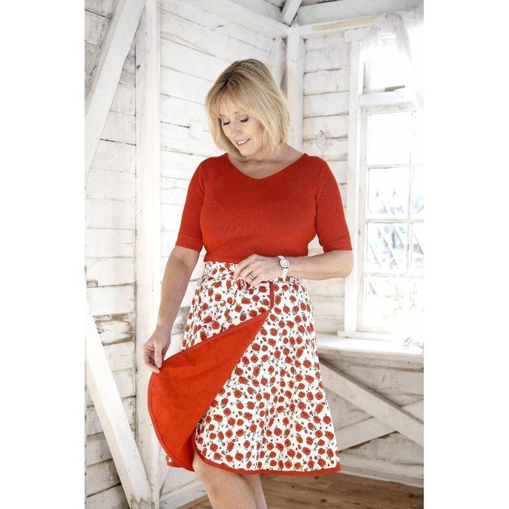 Debbie Shore Wrap Skirt Pattern : Size 8-16 Pattern