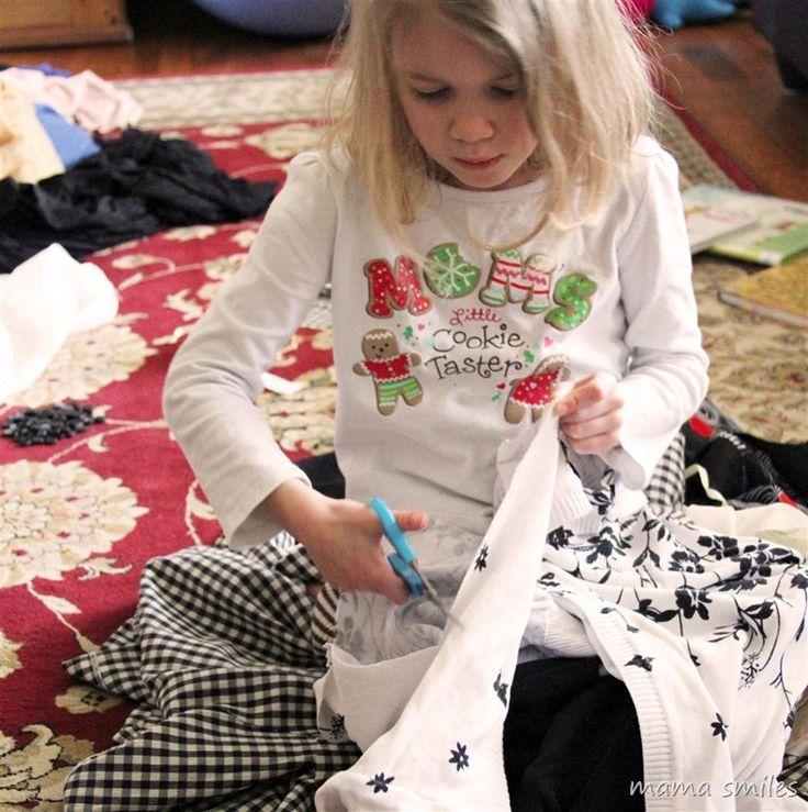 @Nicole Novembrino FinneganFashion for kids: exploring design while upcycling clothing