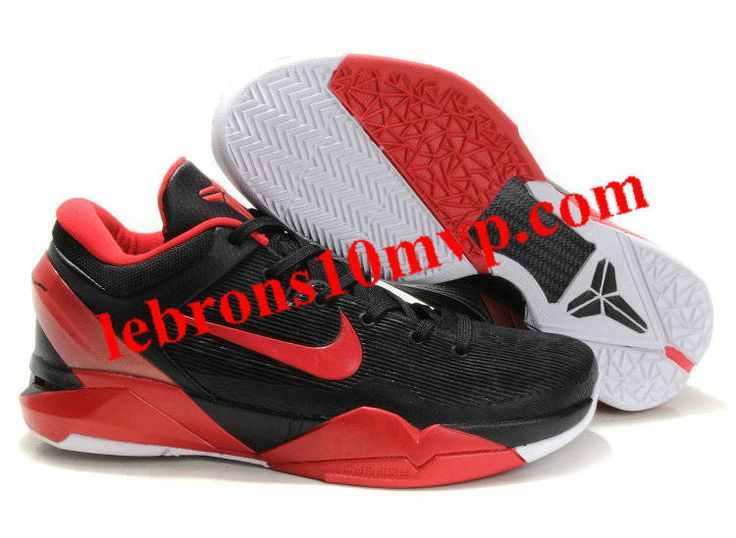 Nike Zoom Kobe 7(VII) Shoes Black/Varsity/Red/White