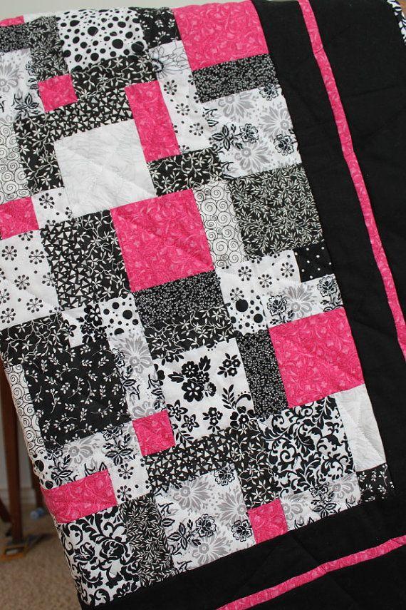 Darling handmade quilt.  Umm...  @Amber Davies???  :)