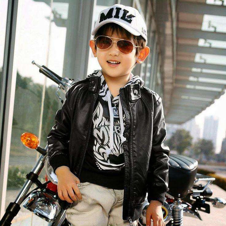 Jual Jaket Kulit Anak - posted by Shodiq at Sosialita Indonesia HP : 0817-0340-2482