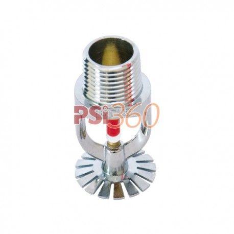 Sprinklerul este format din bulb si rozeta. Bulbul contine un fluid sensibil la caldura.