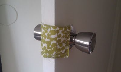 Door Jammer Pattern - awesome for silent closing doors and keeping little ones from locking themselves into rooms and then flipping out....not that something like that has happened....