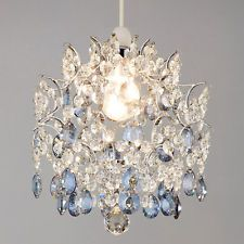 Baroque Easy to Fit Crystal Pendant Ceiling Shade from John Lewis RRP£95