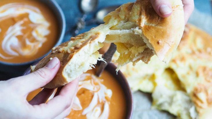 Søtpotetsuppe med ostebrød_PB260029