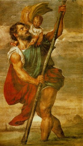 How did st.christopher become a saint | Saint christopher ...