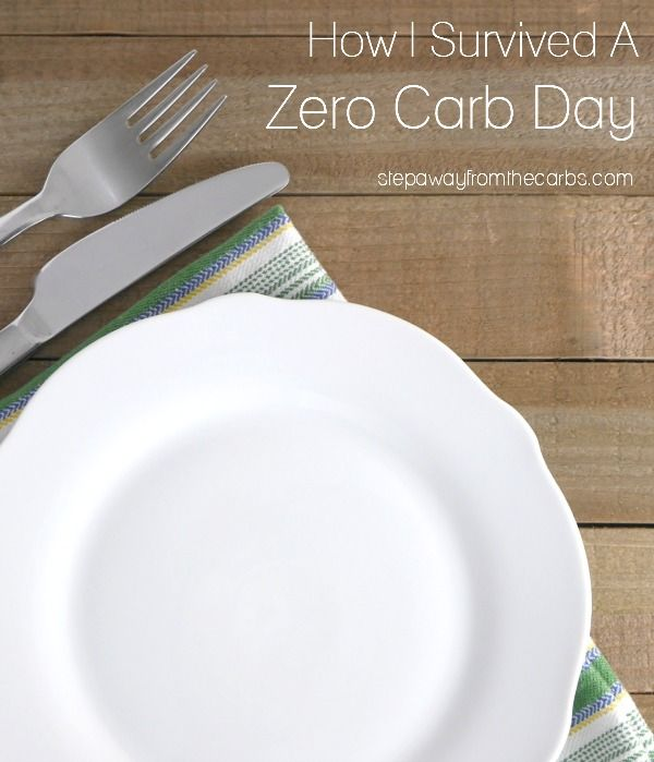 How I Survived a Zero Carb Day - how low can you go?!?! #zerocarb #zerocarbs #nocarb