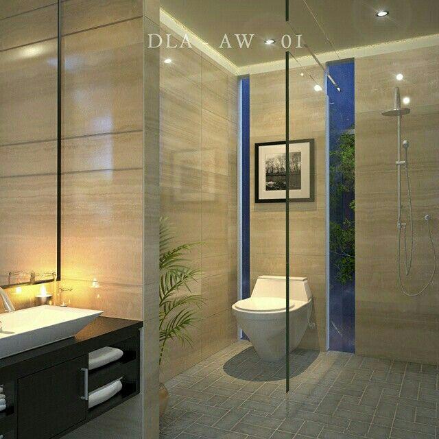 A luxury bathroom, design by cipta