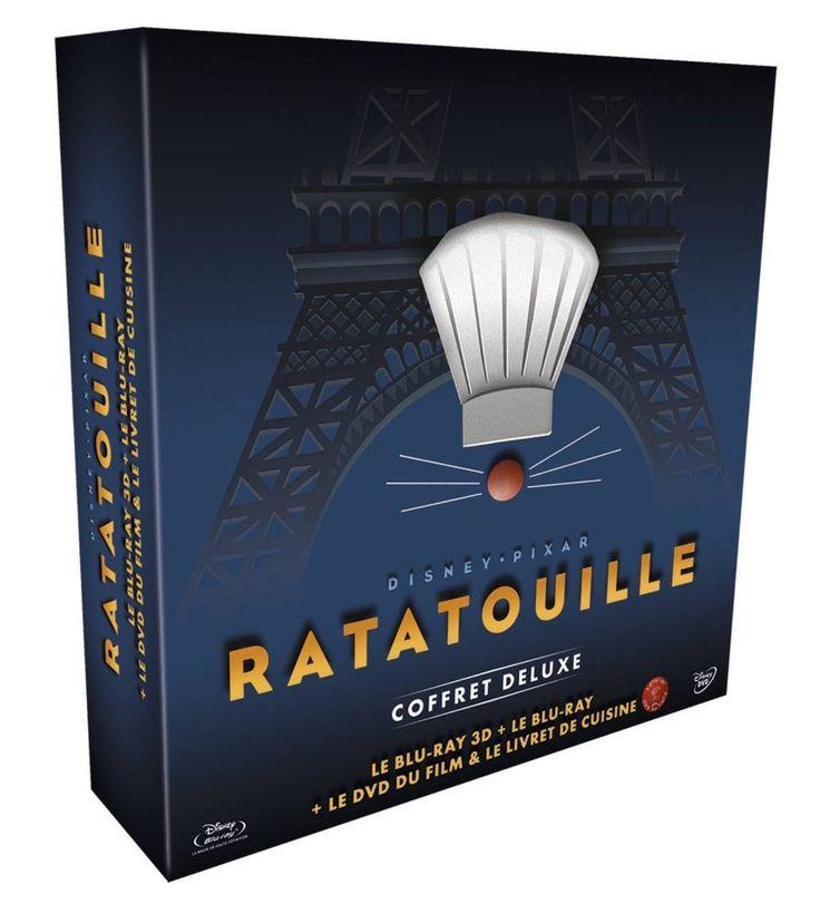 Ratatouille 3D Coffret collector Blu-ray 3D + Blu-ray + DVD + Livre de recettes