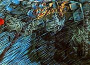 States of mind, those who go  by Umberto Boccioni