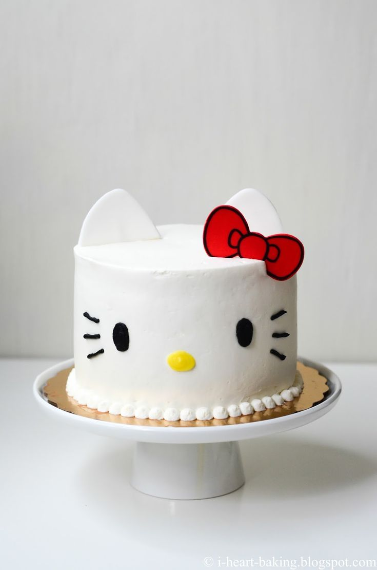 For the past several years, when it's my birthday I make myself a cake! And it's always a Hello Kitty cake of some shape or form! Thi...