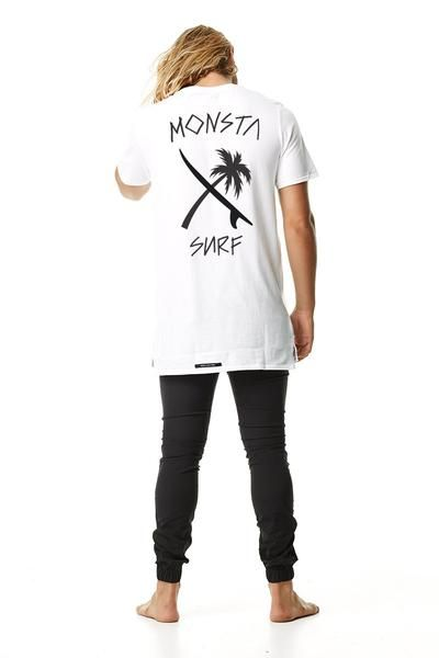 Mens Tees - Monsta Surf