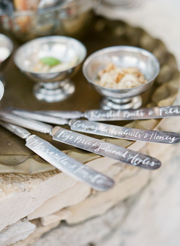 Knives - Modern Renaissance Wedding Inspiration by Lindsey Zamora (Creative Direction + Styling) and Taylor Lord (Photography) - via ruffled