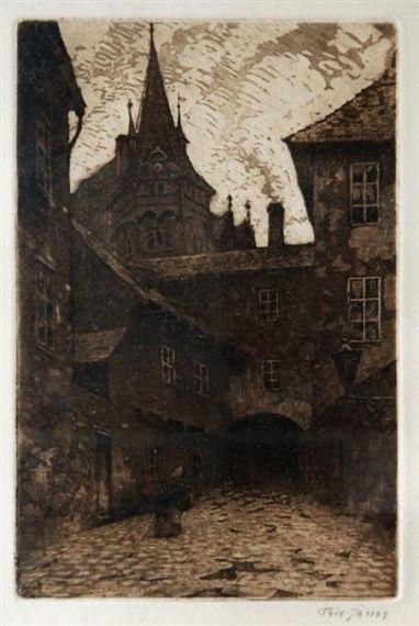 Václav Jansa~From old Prague #Meyrink #Golem