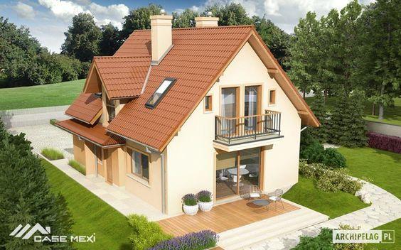 Casa cu mansarda Julek II G1