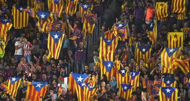 Soccer final thrusts Catalan independence bid back into spotlight - irishtimes.com, Jun 3, 2015